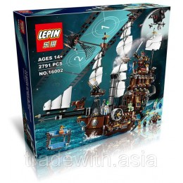 Конструктор LEPIN 16002 аналог LEGO 70810 MetalBeard's Sea Cow CREATOR