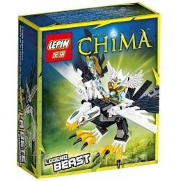 Конструктор LEPIN 04002 аналог LEGO 70124 Легендарные звери: орел LIGENDS OF CHIMA