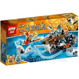 Конструктор LEPIN 04013 аналог LEGO 70220 Саблецикл Стрейнора LIGENDS OF CHIMA
