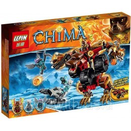 Конструктор LEPIN 04022 аналог LEGO 70225 BLADVIC'S RUMBLE BEAR LIGENDS OF CHIMA
