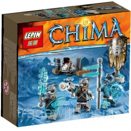 Конструктор LEPIN 04021 аналог LEGO 70232 Sabre Tooth Tribe Pack LIGENDS OF CHIMA