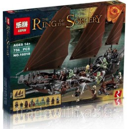 Конструктор LEPIN 16018 аналог LEGO 79008 Pirate Ship Ambush CREATOR