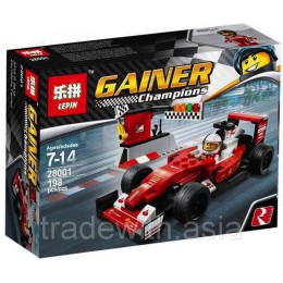 Конструктор LEPIN 28001 аналог LEGO 75879 Скудерия Ferrari SF16-H Speed Champions