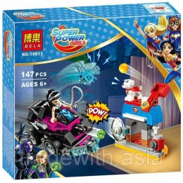 Конструктор BELA 10613 аналог LEGO 41233 Танк Лашины SUPER HERO GIRLS