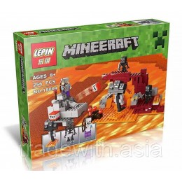 Конструктор LEPIN 18004 аналог LEGO 21126 The Witcher MINEERAFT