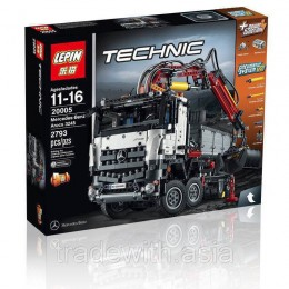 Конструктор LEPIN 20005 аналог LEGO 42043 MERCEDES-BENZ AROCS 3245 TECHNICS