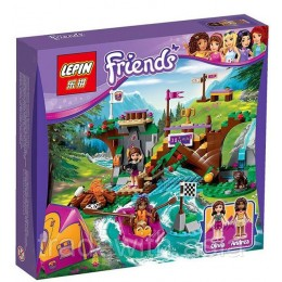 Конструктор LEPIN 01003 аналог LEGO 41121 Спортивный лагерь: сплав по реке LEGO FRIENDS