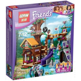 Конструктор LEPIN 01004 аналог LEGO 41122 Спортивный лагерь: дом на дереве LEGO FRIENDS