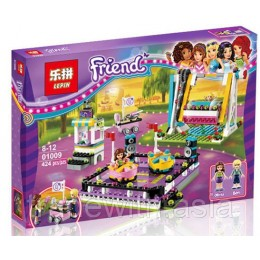 Конструктор LEPIN 01009 аналог LEGO 41133 AMUSEMENT PARK BUMPER CARS LEGO FRIENDS