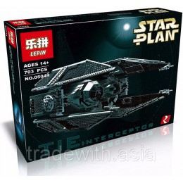 Конструктор LEPIN 05044 аналог LEGO 7181 TIE INTERCEPTOR STAR WARS
