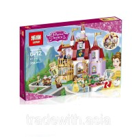 Конструктор LEPIN 01010 аналог LEGO 41067 Belle's Enchanted Castle LEGO FRIENDS
