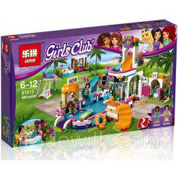 Конструктор LEPIN 01013 аналог LEGO 41313 Heartlake Summer Pool LEGO FRIENDS