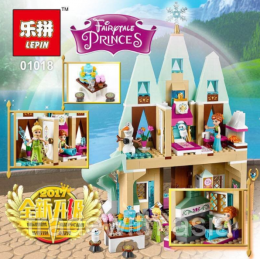Конструктор LEPIN 01018 аналог LEGO 41068 Arendelle Castle Celebration LEGO FRIENDS