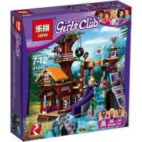Конструктор LEPIN 01047 аналог LEGO 41122 Adventure Camp Treehouse LEGO FRIENDS