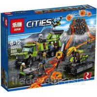 Конструктор LEPIN 02005 копия LEGO 60124 Valcona Exploration Base CiTiES