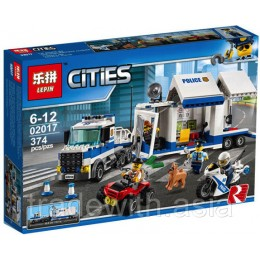 Конструктор LEPIN 02017 копия LEGO 60139 Mobile Command Center CiTiES