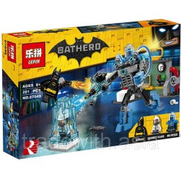 Конструктор LEPIN 07049 копия LEGO 70901 Mr. Freeze Ice Attack SUPER HEROES MARVEL