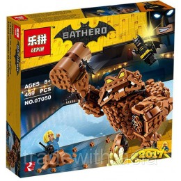 Конструктор LEPIN 07050 копия LEGO 70904 Clayface Splat Attack SUPER HEROES MARVEL