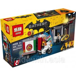 Конструктор LEPIN 07057 копия LEGO 70910 Scarecrow Special Delivery SUPER HEROES MARVEL