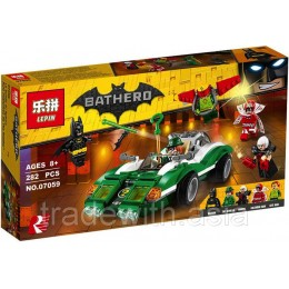 Конструктор LEPIN 07059 копия LEGO 70903 The Riddler Riddle Racer SUPER HEROES MARVEL