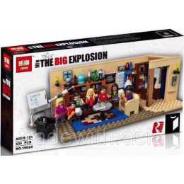 Конструктор LEPIN 16024 аналог LEGO 21302 The Big Bang Theory CREATOR