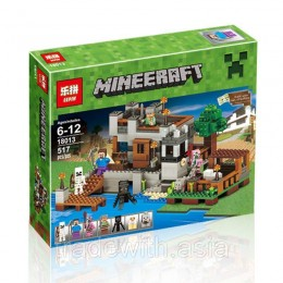 Конструктор LEPIN 18013 аналог LEGO My harbor dock MINEERAFT