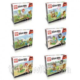 Конструктор LEPIN 19007 аналог LEGO Six new Angry Birds ANGRY BIRD MOVIE