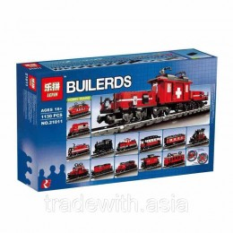 Конструктор LEPIN 21011 аналог LEGO 10183 Hobby Train Set TECHNICS