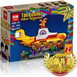 Конструктор LEPIN 21012 аналог LEGO 21306 The Beatles: Yellow Submarine CREATOR
