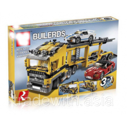 Конструктор LEPIN 24011 аналог LEGO 6753 Three in One Highway Transport TECHNICS