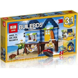 Конструктор LEPIN 24014 аналог LEGO 31063 Beachside Vacation CREATOR