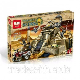 Конструктор LEPIN 31001 аналог LEGO 7327 Пирамида скорпиона Pharaohs Quest