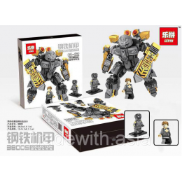 Конструктор LEPIN 38005 Iron and Steel Armor