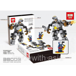 Конструктор LEPIN 38003 Iron and Steel Armor