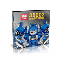 Конструктор LEPIN 38002 Iron and Steel Armor