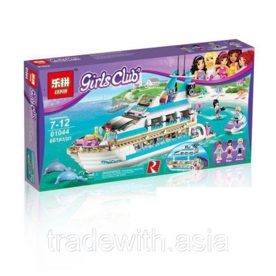 Конструктор LEPIN 01044 аналог LEGO 41015 Круизный лайнер LEGO FRIENDS