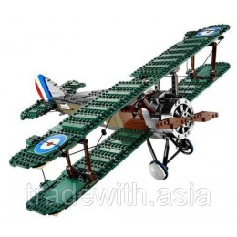 Конструктор LEPIN 21021 аналог LEGO 10226 Истребитель Sopwith Camel EXCLUSIVE