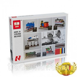 Конструктор LEPIN 21029 аналог LEGO 4002016 50 Years on Track CREATOR