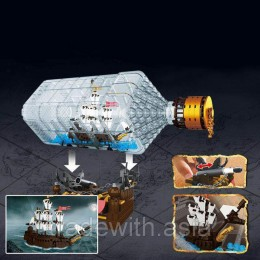 Конструктор LEPIN 16045 аналог LEGO The Ship in the Bottle CREATOR