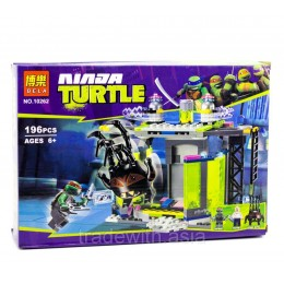 Конструктор BELA 10262 аналог LEGO 79119 Комната мутации TEENAGE MUTANT NINJA TURTLES
