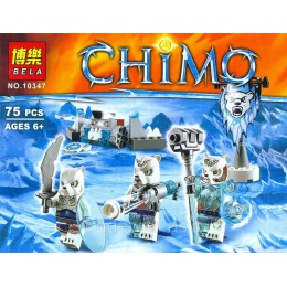 Конструктор BELA 10347 аналог LEGO 70230 Лагерь Ледяных Медведей LEGENDS OF CHIMA