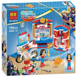 Конструктор BELA 10616 аналог LEGO 41235 Дом Чудо-женщины SUPER HERO GIRLS
