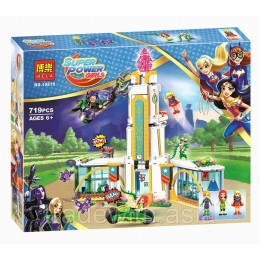 Конструктор BELA 10618 аналог LEGO 41232 Школа Супергероев SUPER HERO GIRLS