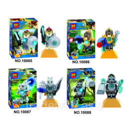 Конструктор BELA 10085 - 10088 аналог LEGO LEGENDS OF CHIMA
