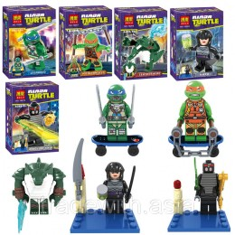 Конструктор BELA 10266-10270 аналог LEGO TEENAGE MUTANT NINJA TURTLES