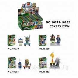 Конструктор BELA 10279-10282 аналог LEGO TEENAGE MUTANT NINJA TURTLES