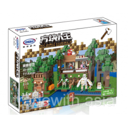 Конструктор XingBao 09003 аналог LEGO The Mysteries of Base