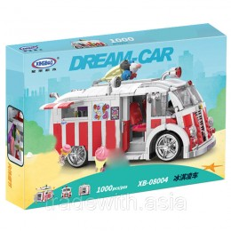 Конструктор XingBao 08004 аналог LEGO The Ice Cream Car
