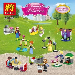 Конструктор LELE 37015 аналог LEGO Набор из 8 конструкторов DISNEY PRINCESSES