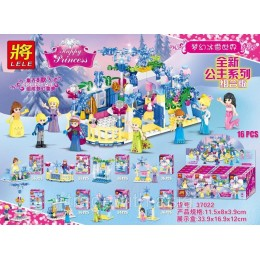 Конструктор LELE 37022 аналог LEGO Набор из 8 конструкторов DISNEY PRINCESSES